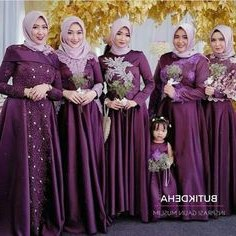 Model Model Baju Bridesmaid Hijab 2019 Kvdd 143 Best Hijabi Bridesmaids Images In 2019