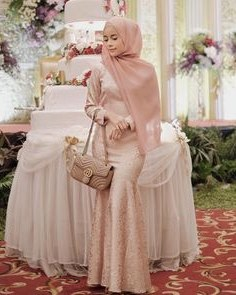 Model Model Bridesmaid Hijab 2019 Budm Mermaid Dress In 2019