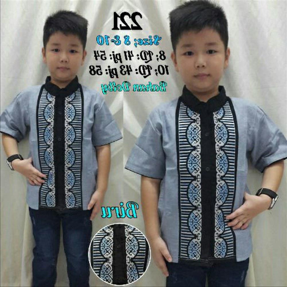 Bentuk Baju Lebaran Anak Lelaki J7do Jual Setelan Baju Anak 4 5 6 Tahun Koko Celana Panjang Set