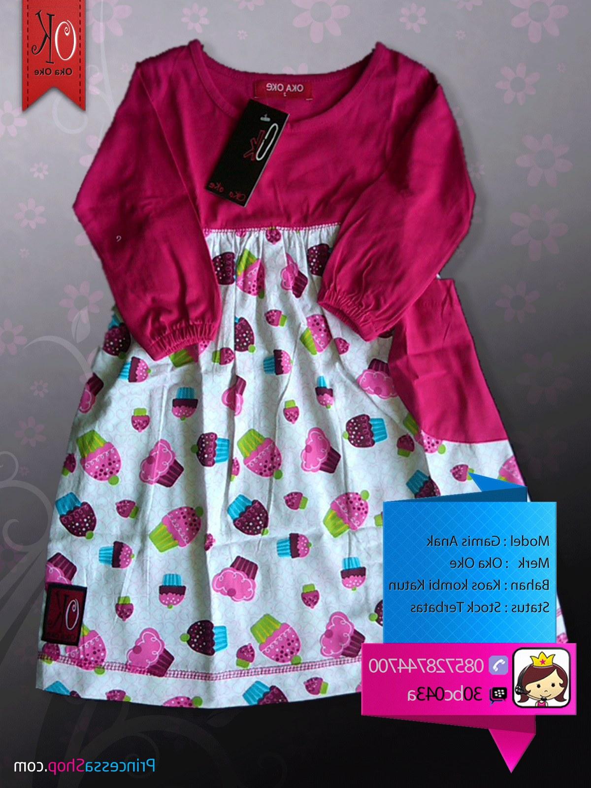 Bentuk Baju Lebaran Anak Perempuan 2 Tahun Gdd0 Baju Gamis Produksi Konveksi Oka Oke