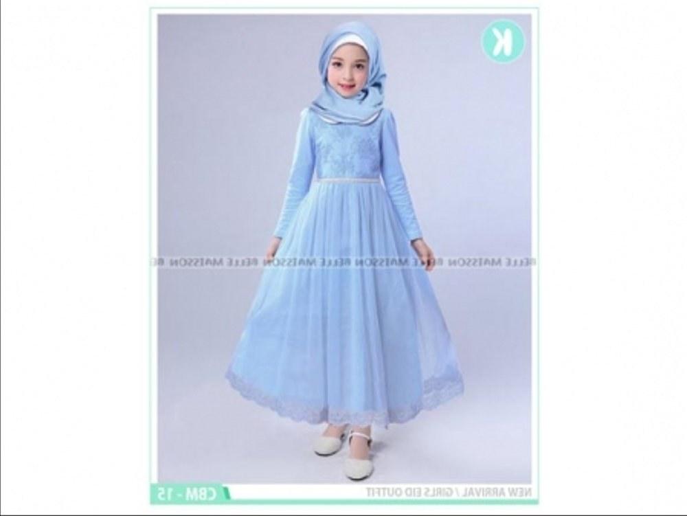 Bentuk Baju Lebaran Anak Perempuan 2 Tahun Q0d4 Jual Baju Muslim Import Anak 7 8 9 10 11 12 Tahun Setelan
