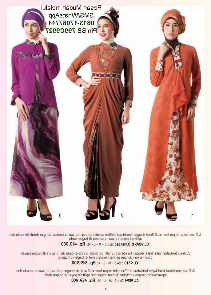 Bentuk Baju Lebaran Anak Perempuan Terbaru 2019 T8dj Baju Muslim Anak Perempuan 2014