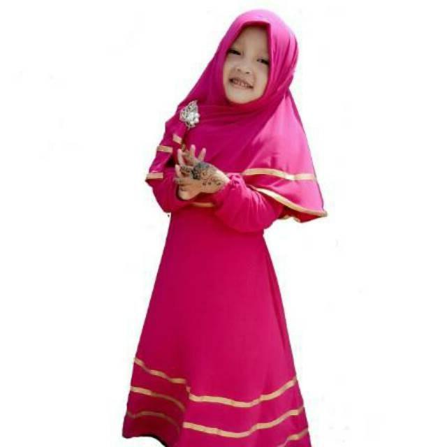 Bentuk Baju Lebaran Anak Perempuan Umur 13 Tahun T8dj 30 Model Gamis Anak Umur 13 Tahun Fashion Modern Dan
