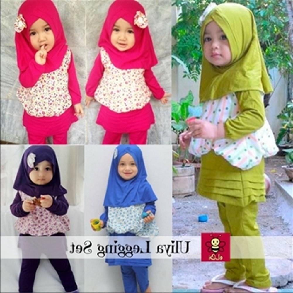 Bentuk Baju Lebaran Anak Perempuan Umur 3 Tahun 4pde Jual Baju Anak Anak Muslim