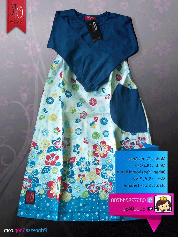 Bentuk Baju Lebaran Anak Perempuan Umur 3 Tahun Dwdk Gambar Baju Muslim Anak Perempuan Terbaru