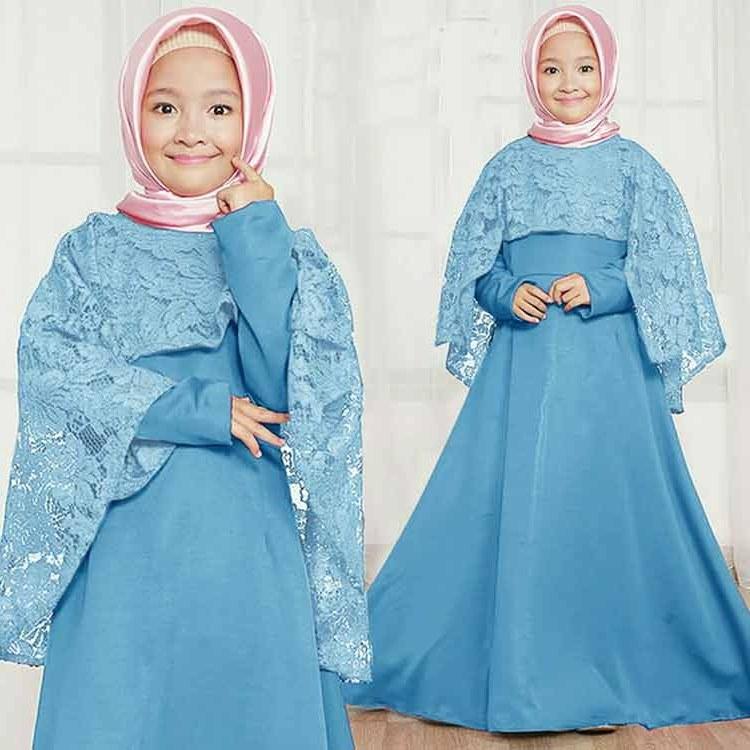 Bentuk Baju Lebaran Anak Perempuan Umur 3 Tahun E6d5 30 Model Baju Gamis Anak Perempuan Umur 12 Tahun