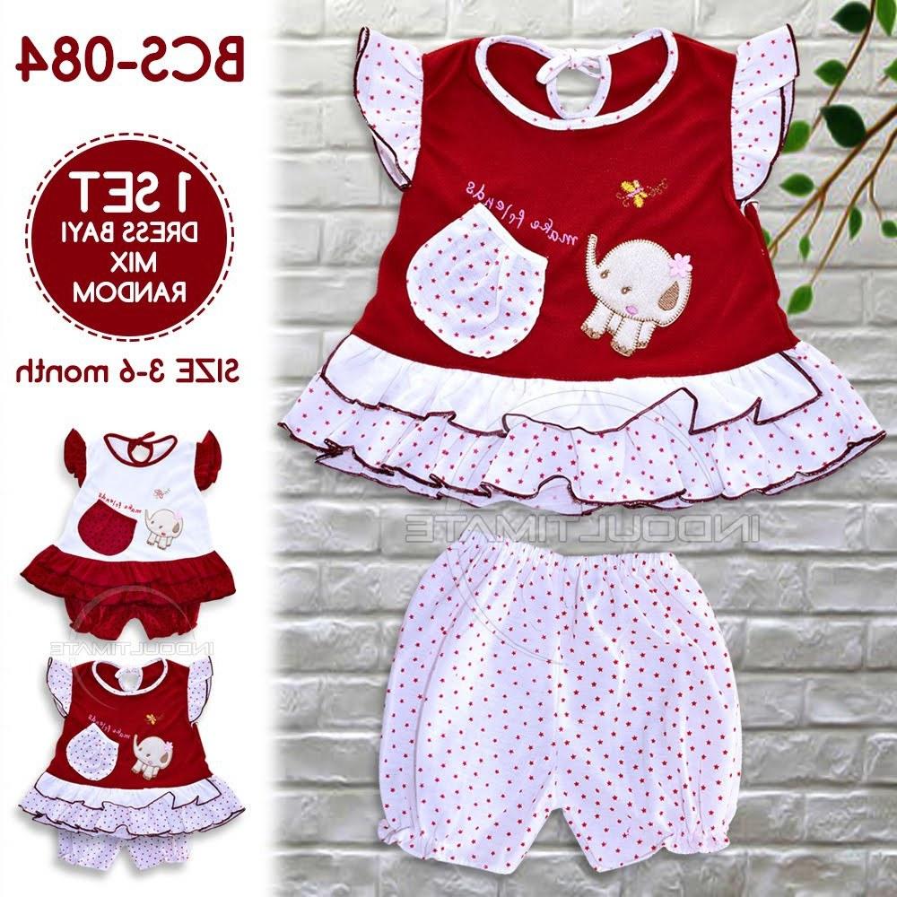 Bentuk Baju Lebaran Bayi 6 Bulan J7do Setelan Baju Bayi Perempuan Baru Lahir Newborn Murah Dress
