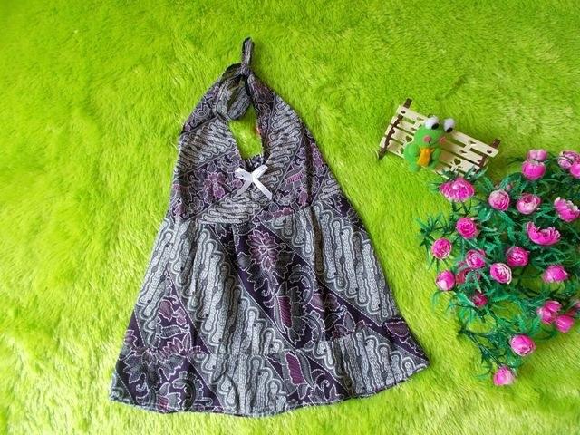 Bentuk Baju Lebaran Bayi 6 Bulan Thdr Dress Baju Batik Bayi Bcl Parang Abu