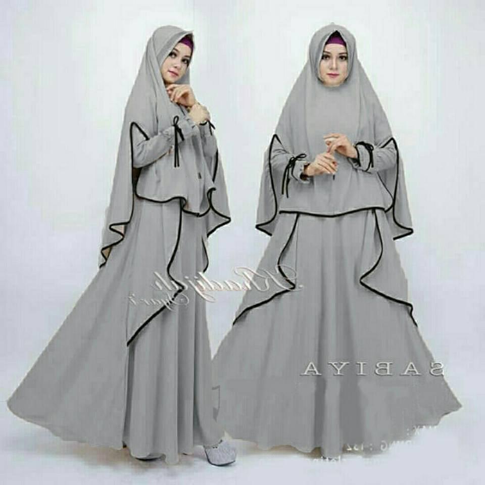 Bentuk Baju Lebaran Gamis 2018 Tqd3 80 Model Baju Lebaran Terbaru 2019 Muslimah Trendy Model
