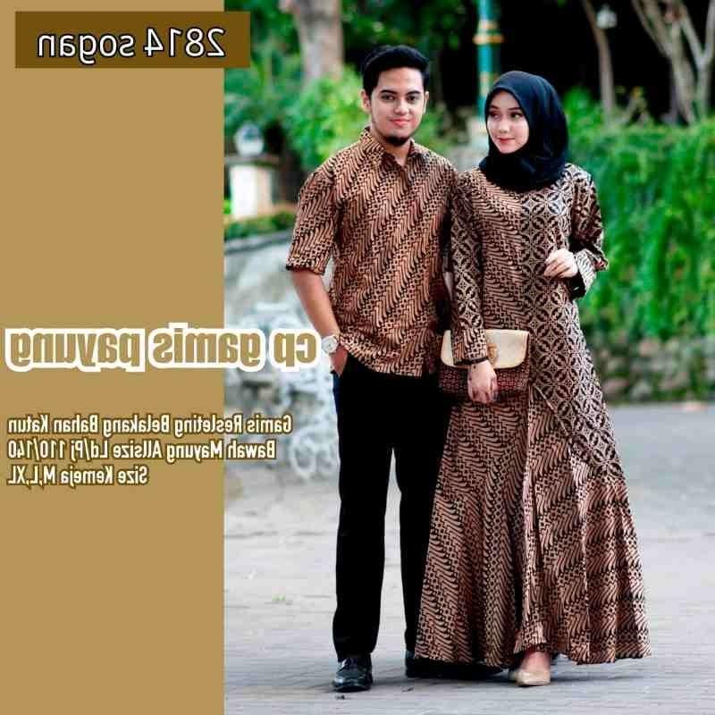 Bentuk Baju Lebaran Jumbo Bqdd Baju Couple Batik Lebaran Jumbo Baju Muslim Modern Indonesia
