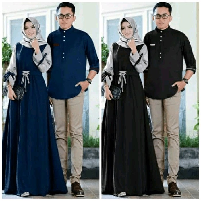 Bentuk Baju Lebaran Jumbo D0dg 30 Model Baju Couple Lebaran Fashion Modern Dan Terbaru