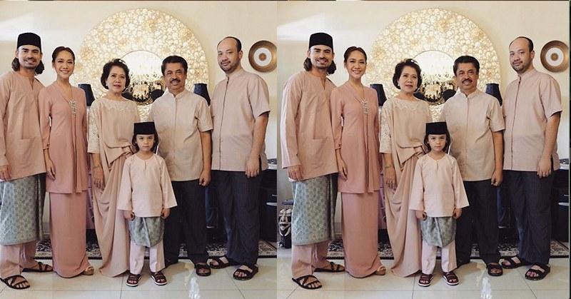 Bentuk Baju Lebaran Keluarga 2020 3ldq Foto Warna Salem Hiasi Busana Lebaran Bcl Dan Keluarga