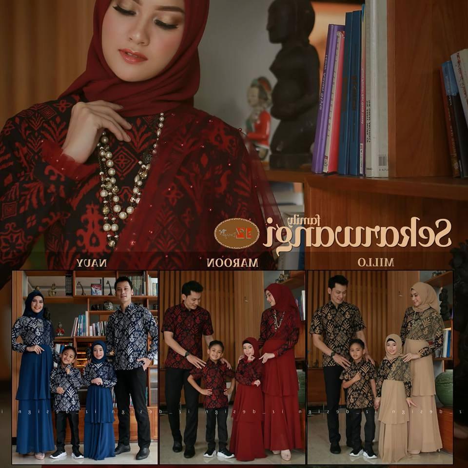 Bentuk Baju Lebaran Keluarga 2020 E6d5 30 Model Baju Sarimbit Keluarga Lebaran 2020 Fashion