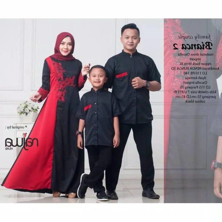 Bentuk Baju Lebaran Keluarga Terbaru Ftd8 Baju Lebaran Satu Keluarga Bianca Gamissyari