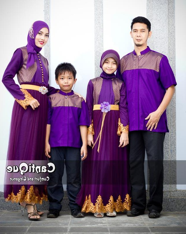 Bentuk Baju Lebaran Keluarga Terbaru Rldj 25 Model Baju Batik Seragam Keluarga Lebaran Terbaru 2018