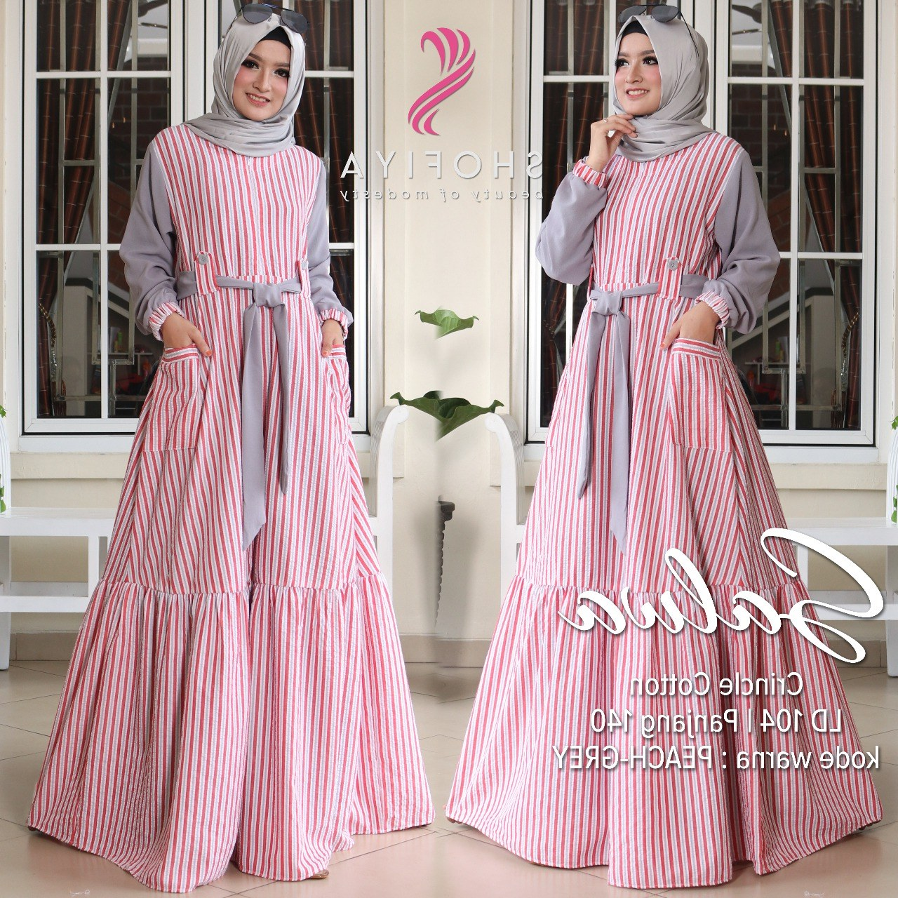 Bentuk Baju Lebaran Model Baru Qwdq Model Baju Gamis Terbaru Lebaran Gambar islami