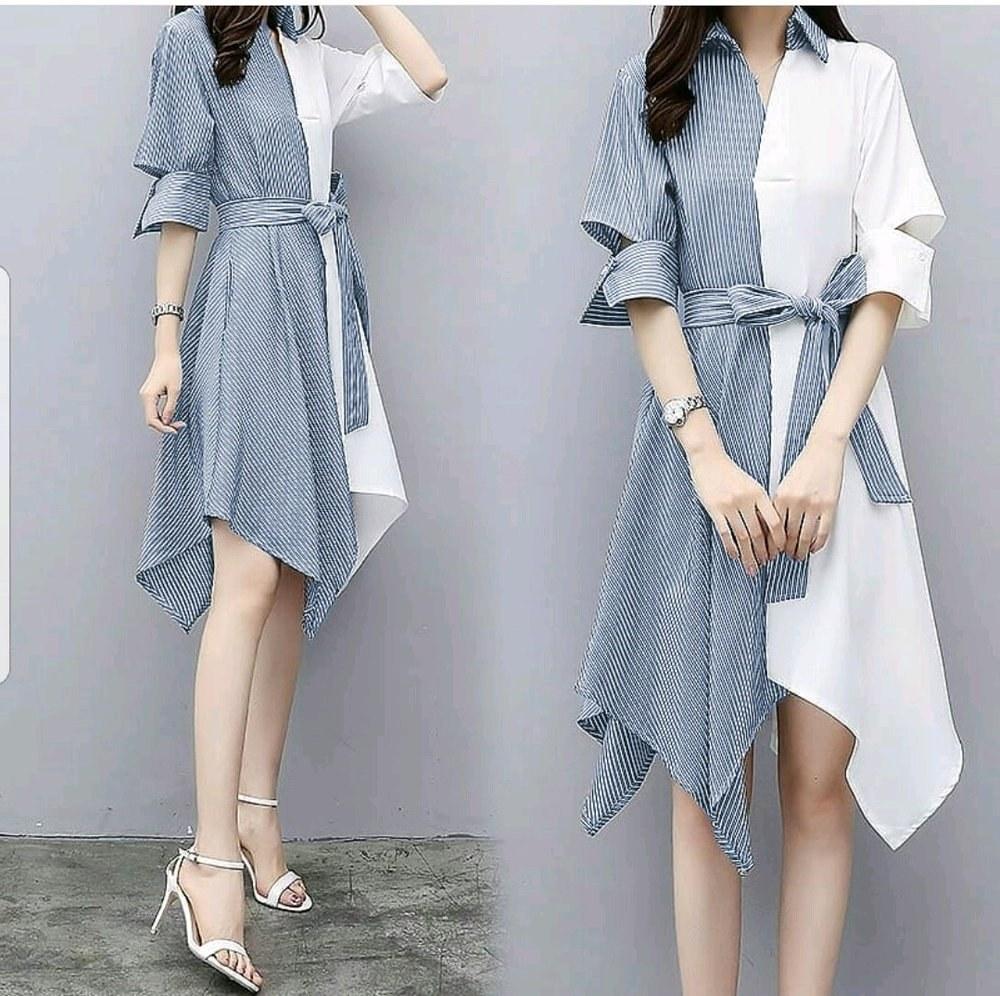 Bentuk Baju Lebaran Remaja Kekinian Dddy Jual Dress Kemeja Kekinian Baju Blouse Baju Pesta