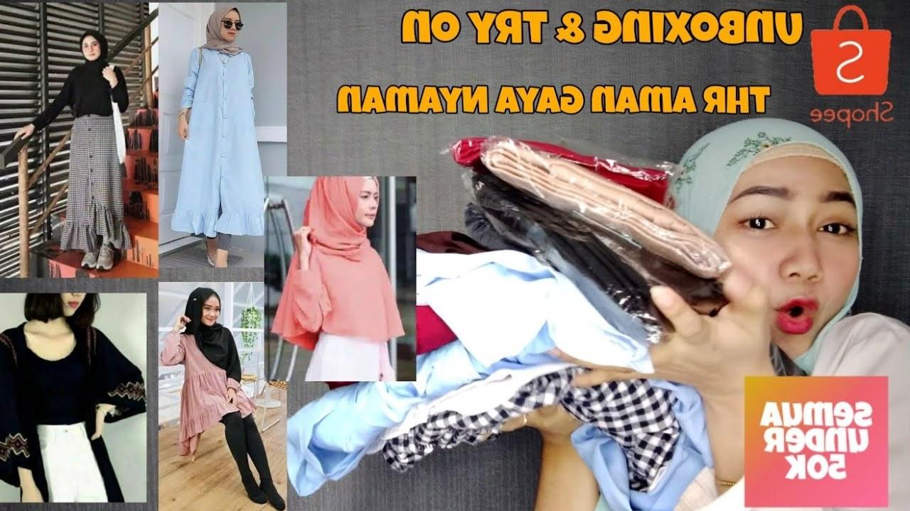 Bentuk Baju Lebaran Shopee 3ldq Unboxing Shopee Haul Lebaran