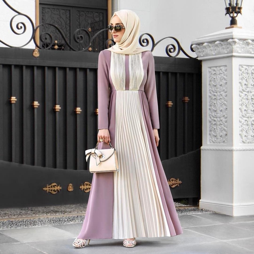 Bentuk Baju Lebaran Simpel Elegan Dddy 30 Model Baju Muslim Lebaran 2018 Simple & Elegan