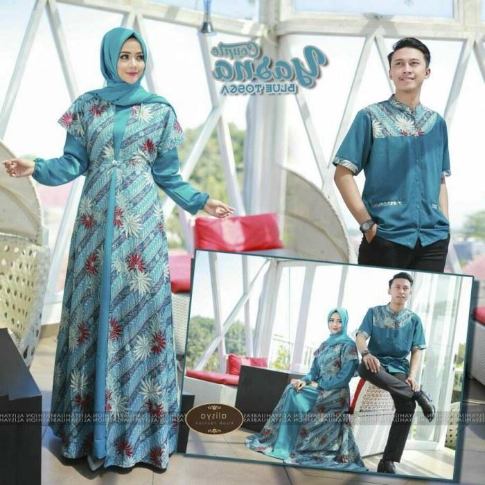 Bentuk Baju Lebaran Simpel Elegan Tldn Model Gamis Batik Lebaran