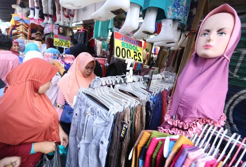 Bentuk Baju Lebaran Tanah Abang 9ddf Berburu Baju Lebaran Di Pasar Tanah Abang