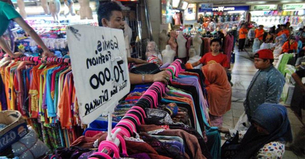 Bentuk Baju Lebaran Tanah Abang Thdr Deretan Tempat Belanja Lebaran Murah Di Jakarta