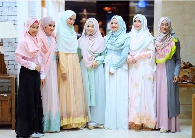 Bentuk Baju Lebaran Thn Ini Gdd0 13 Model Baju Gamis Pesta Dan Lebaran Tahun Ini 2016