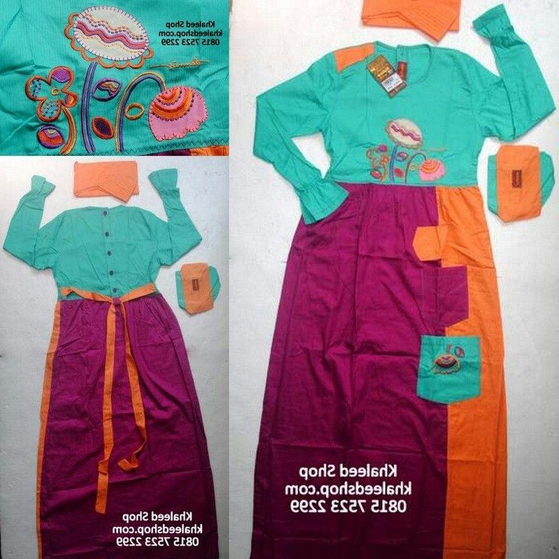 Bentuk Baju Lebaran Untuk Anak Usia 13 Tahun E9dx Baju Muslim Anak Cewek P13p5 Size 13 Remaja Cewek Untuk
