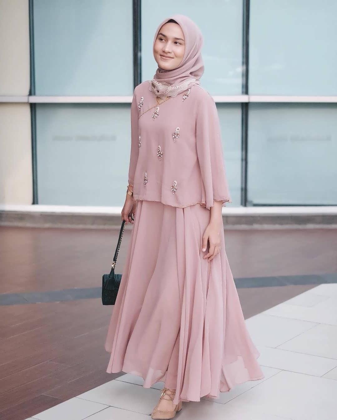 Bentuk Baju Lebaran Untuk Ibu Gemuk E6d5 35 Model Baju Gamis Terbaru Lebaran Hamil Gemuk Kurus