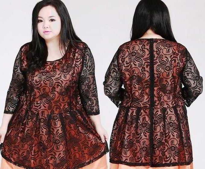Bentuk Baju Lebaran Untuk Ibu Gemuk O2d5 Tips Baju Yang Tepat Untuk orang Gemuk Konveksi Baju