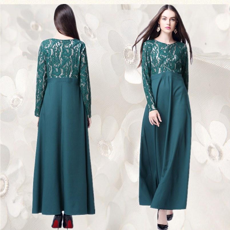 Bentuk Fashion Muslim Korea Q5df A020 Lace Korea Linen Fashion Retail Sale Muslim Lady Long