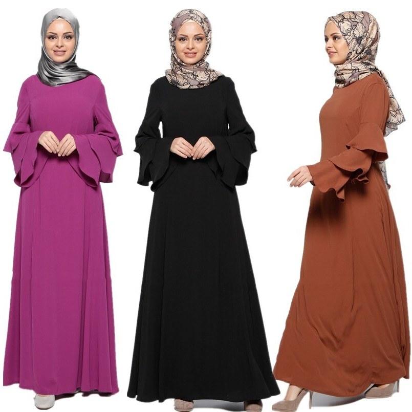Bentuk Fashion Muslim Korea Q5df A024 Korea Linen One Layer without Inner Non Transparent