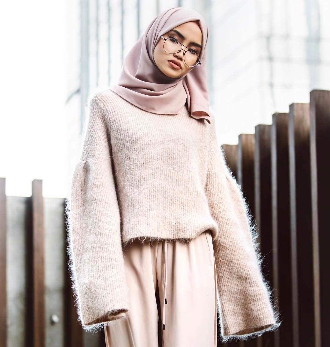 Bentuk Fashion Muslim Korea Thdr Beautiful Bination
