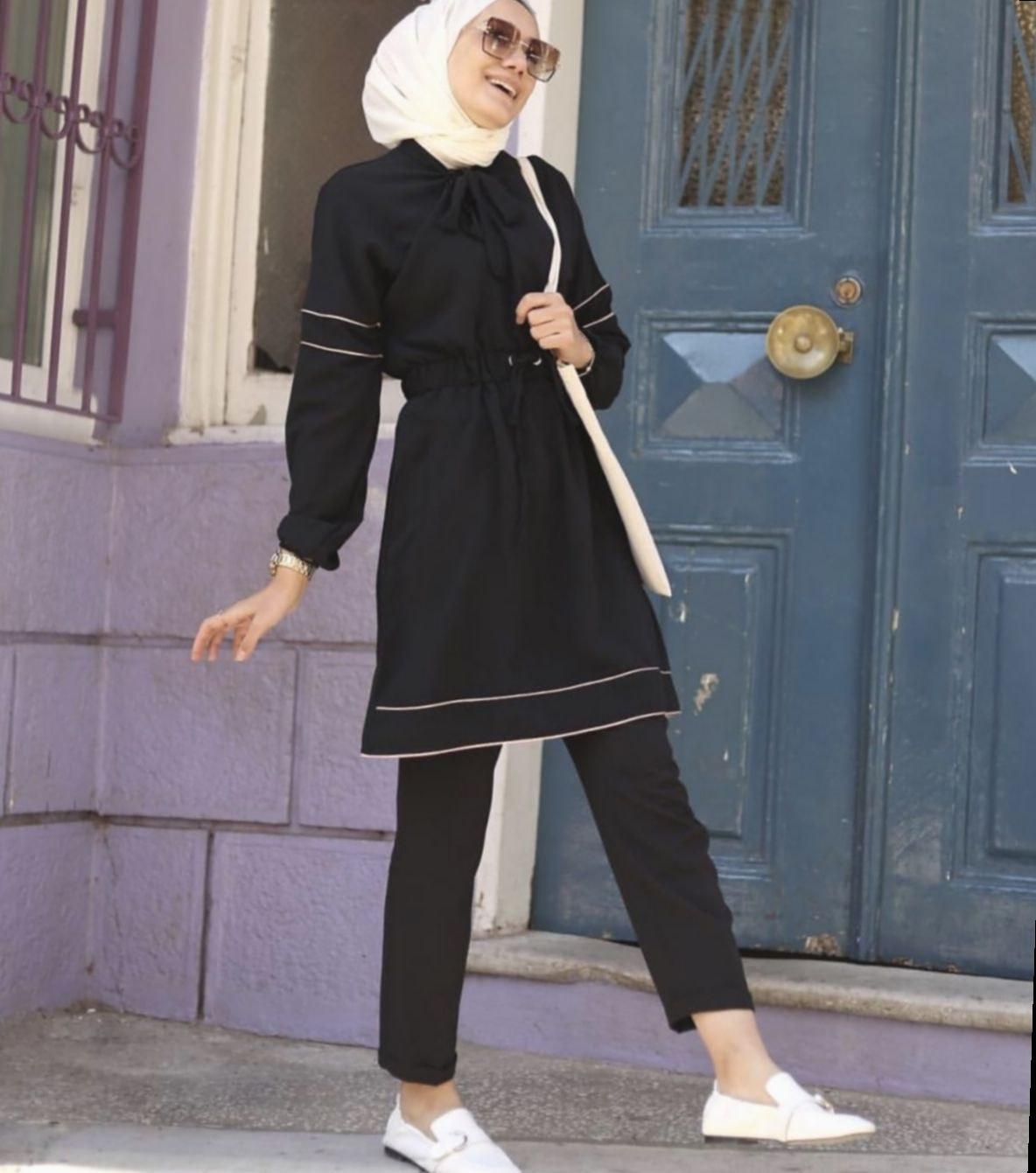 Bentuk Fashion Muslim Korea Tqd3 Fashion Dresses Korean Shoes Style Fitness Uae