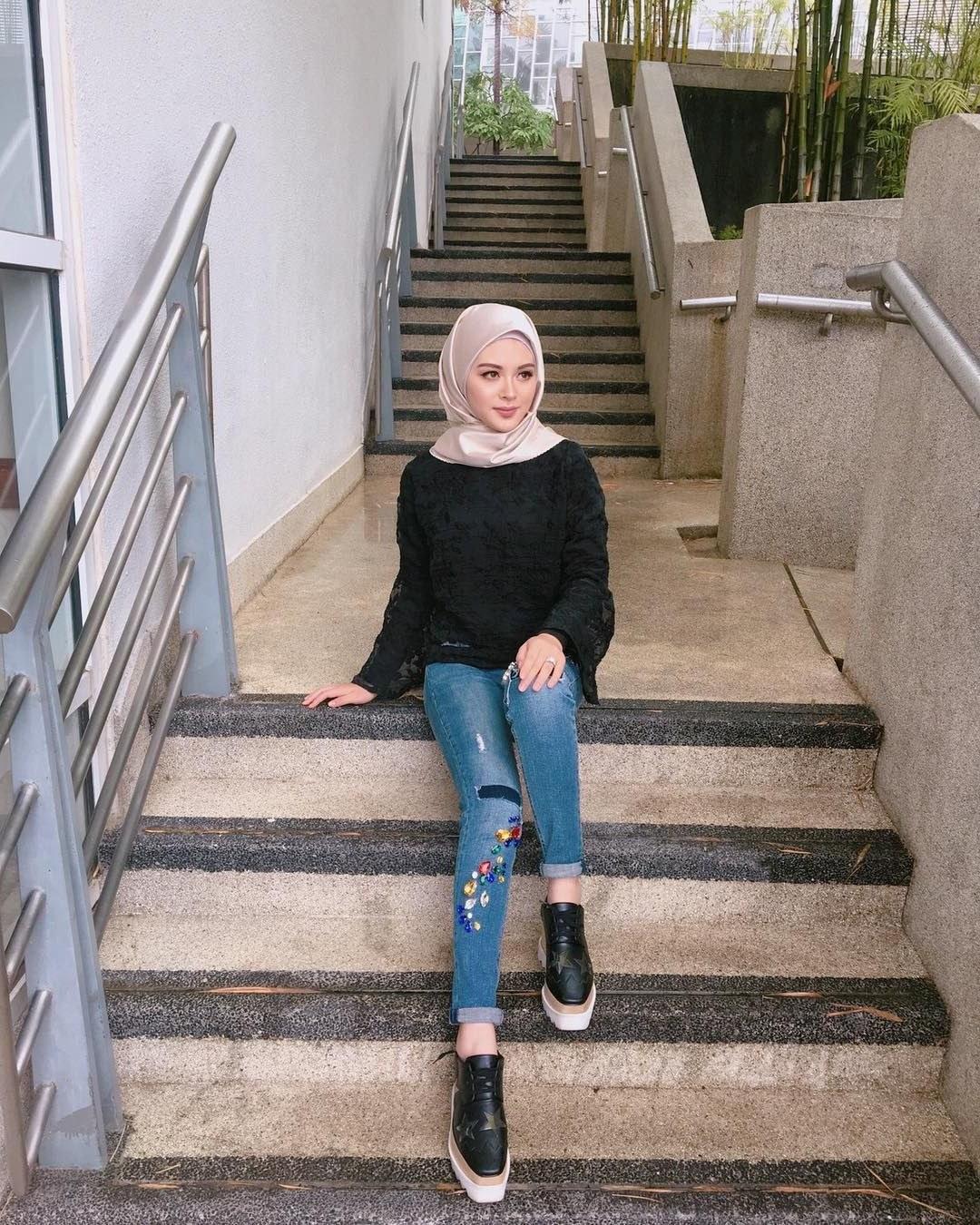 Bentuk Fashion Muslim Korea X8d1 A Korean Muslim Beauty ️ayana Jihye Moon ️