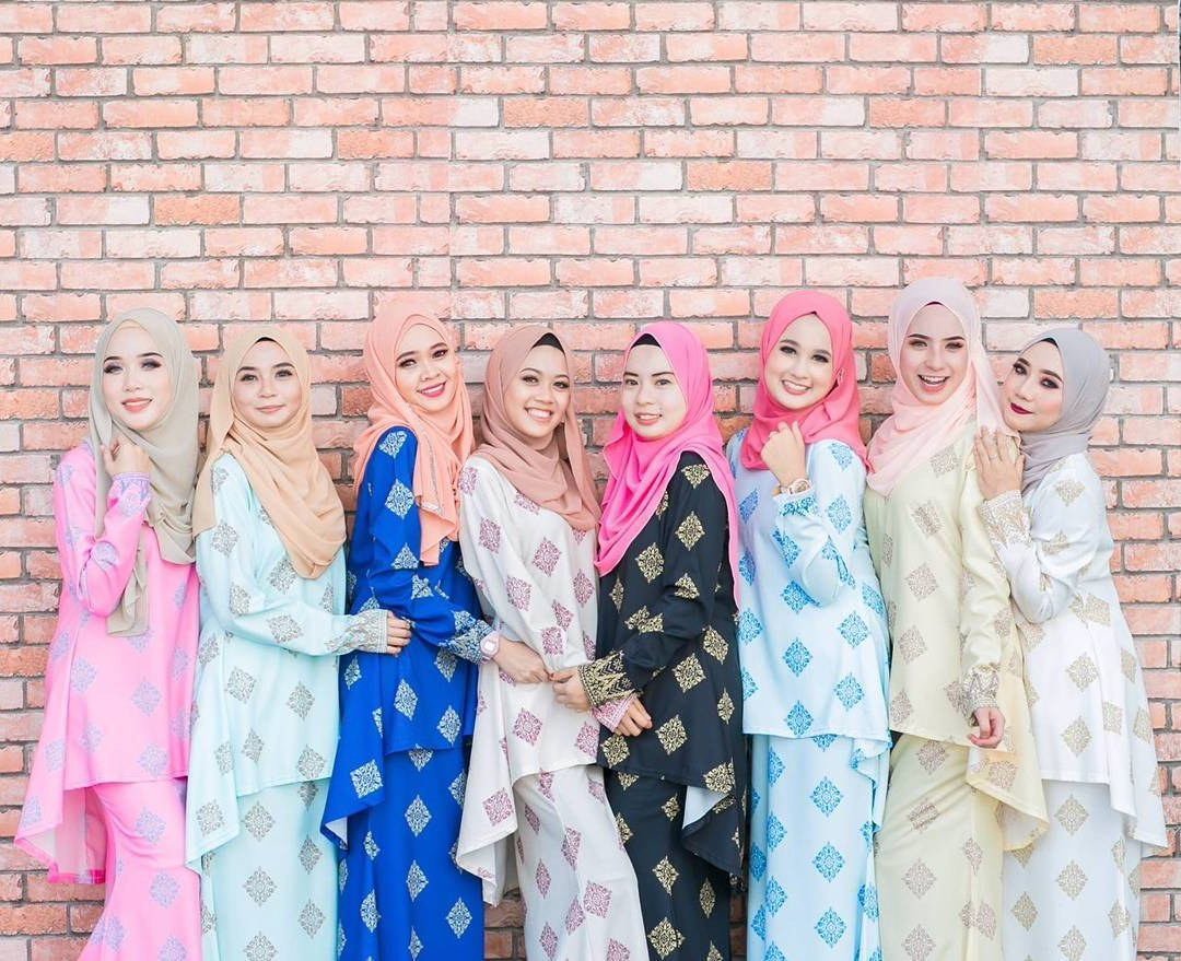 Bentuk Fashion Muslimah Terbaru 2020 Ffdn 27 Fesyen Baju Kurung Terkini Untuk Raya 2020 Cantik