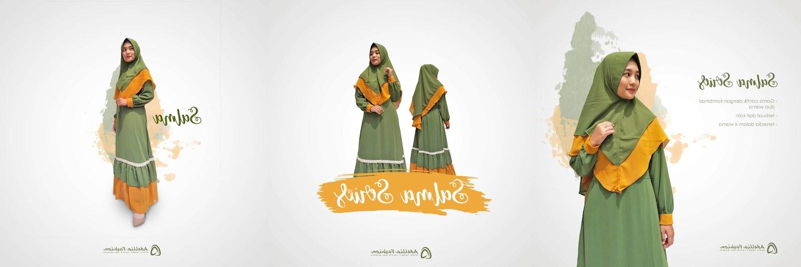 Bentuk Fashion Muslimah Terbaru 2020 Nkde Rekomendasi Gamis Muslimah Terbaru 2020 Adellia Fashion