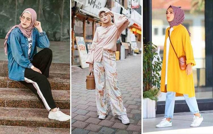 Bentuk Fashion Muslimah Terbaru 2020 Nkde Trend Baju Muslim Terbaru 2019 Ide Hijab Syar I