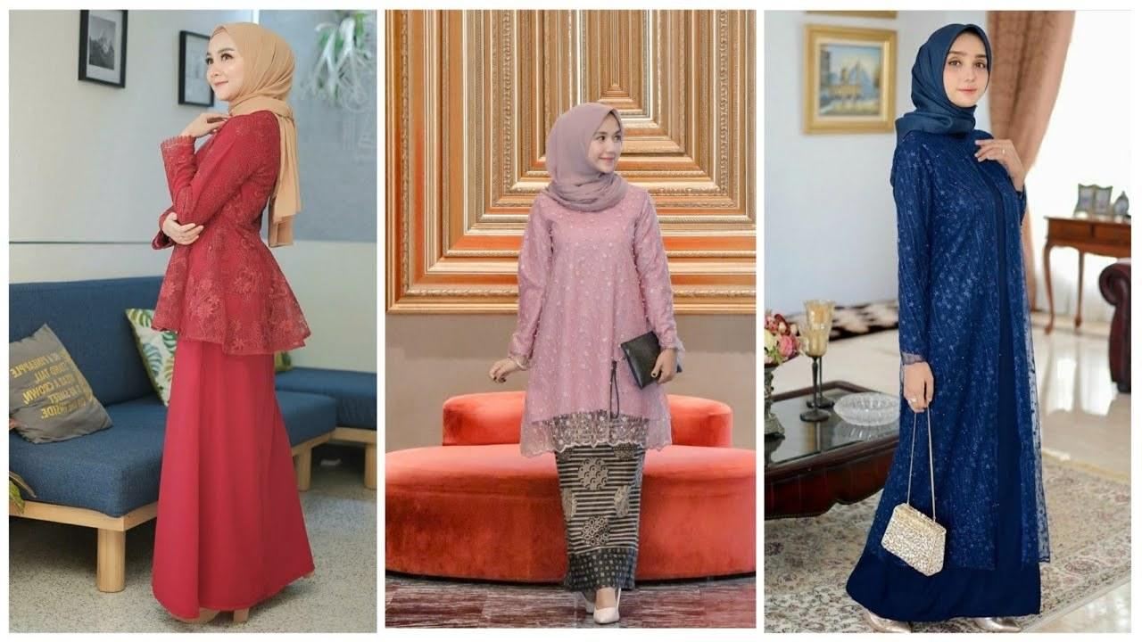 Bentuk Fashion Muslimah Terbaru 2020 Rldj 22 Model Gamis Brokat Pesta Muslimah Terbaru Di Tahun 2019