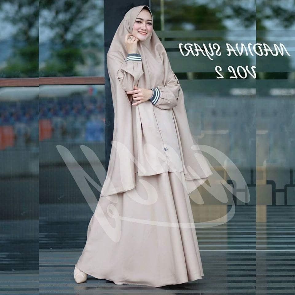 Bentuk Fashion Muslimah Terbaru 2020 T8dj Model Baju Gamis Syari Modern Terbaru 2018 2019