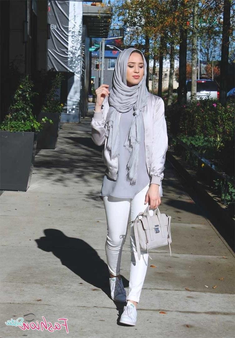 Bentuk Fashion Muslimah Terbaru 2020 Txdf Fashion Hijab Casual 2020 Modern Outfit Korea