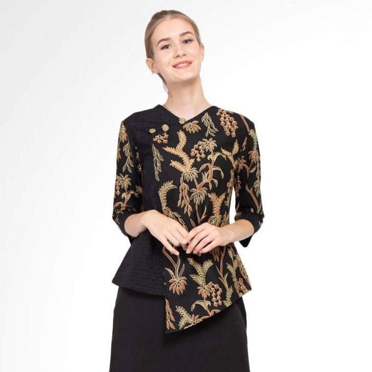 Bentuk Model Baju Lebaran atas Bawah 8ydm 30 Model Baju Batik Wanita Kantor Modern & Lengan Panjang