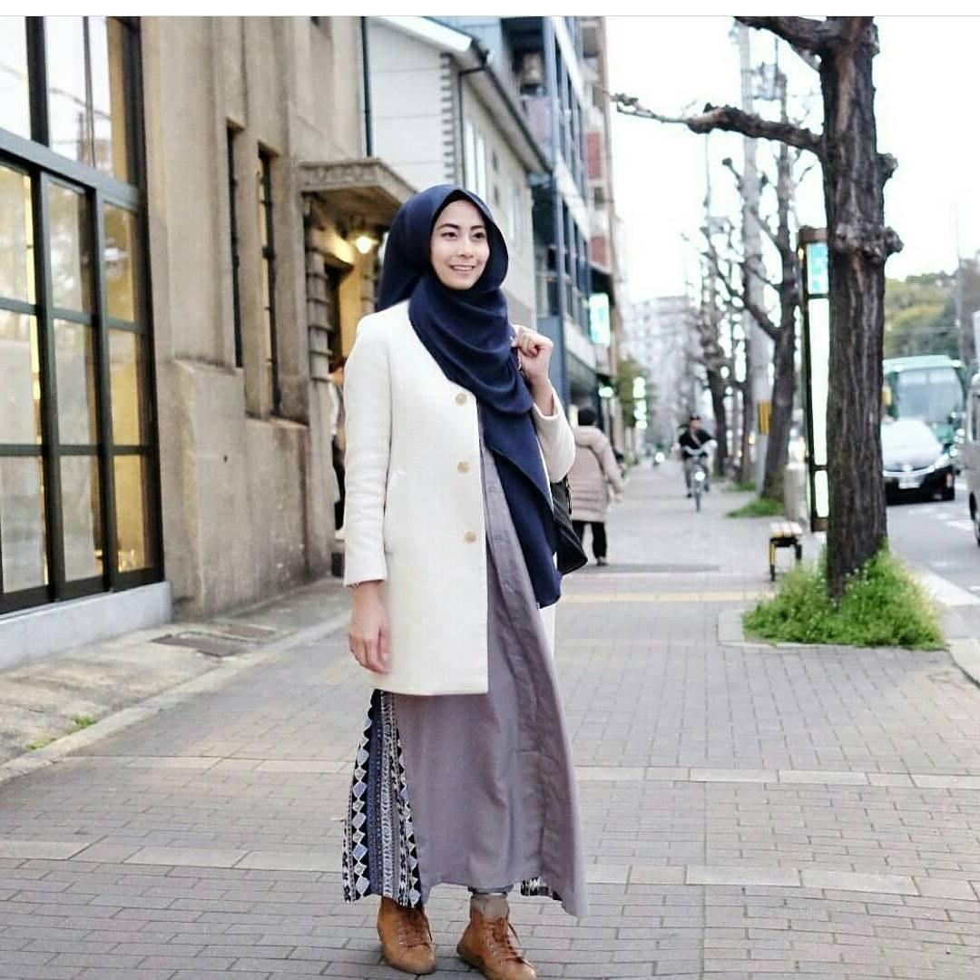 Bentuk Model Baju Lebaran Dian Pelangi 2018 Xtd6 17 Fashion Hijab Casual 2018 Untuk Remaja Wanita Masa Kini