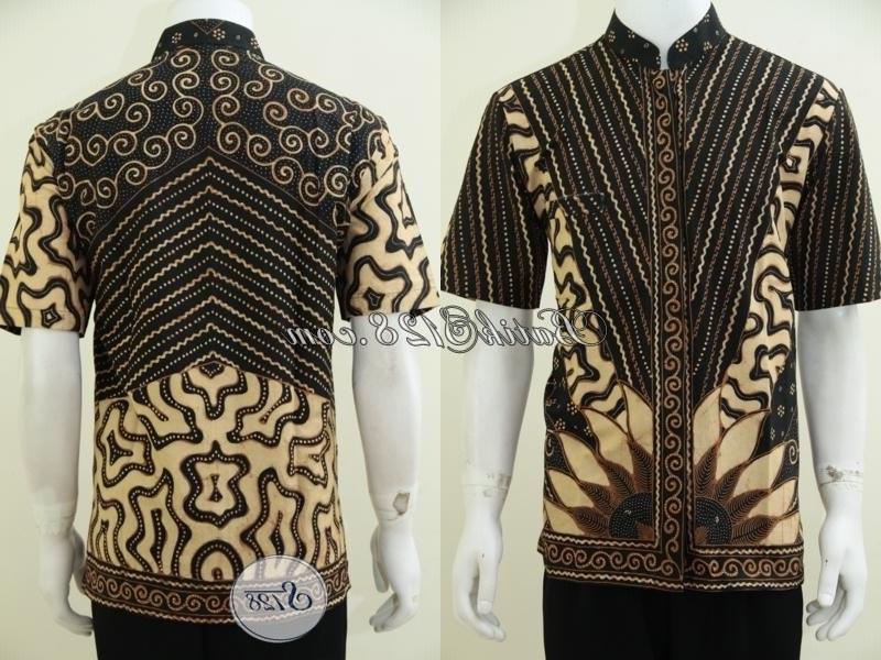 Bentuk Model Baju Lebaran Pria Whdr Kemeja Batik Pria Model Koko Baju Batik Lebaran Krah
