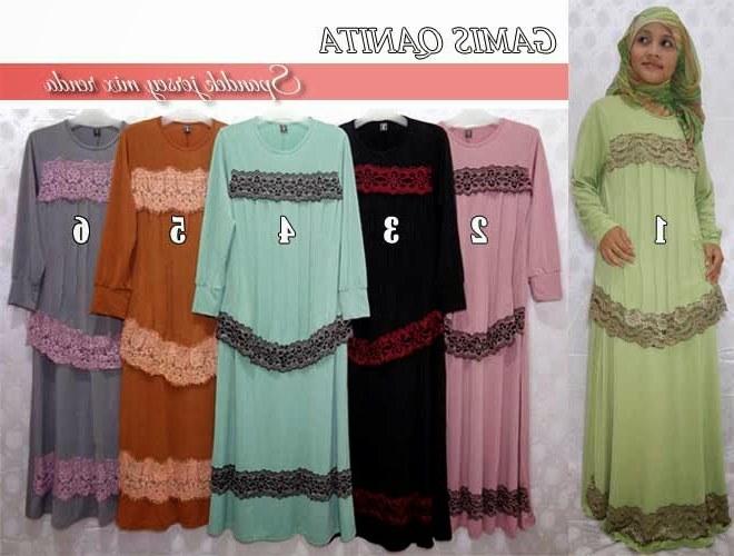 Bentuk Model Baju Lebaran Thn Ini J7do Aneka Busana Muslim Untuk Lebaran Tahun Ini