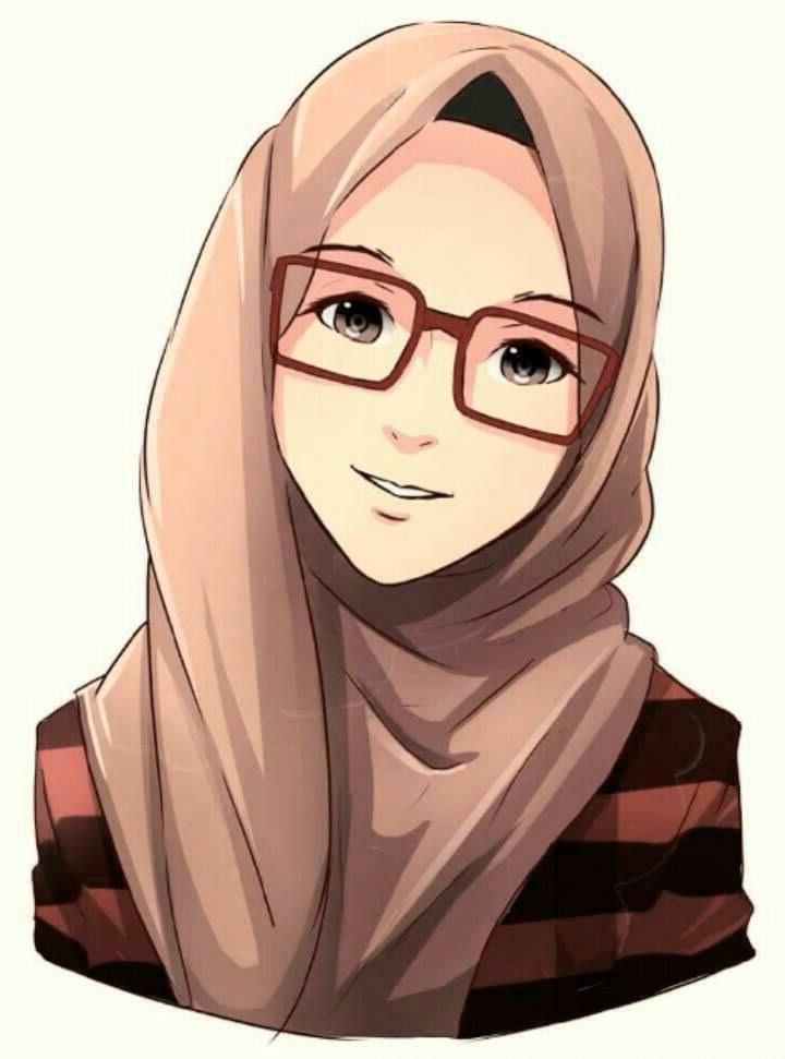 Bentuk Muslimah Bercadar Hitam E9dx 75 Gambar Kartun Muslimah Cantik Dan Imut Bercadar