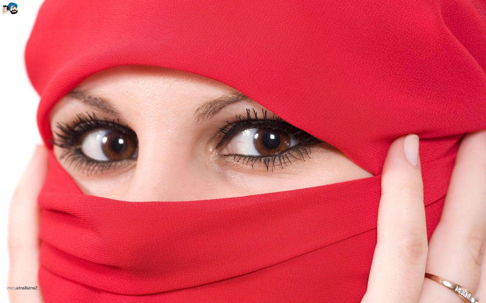 Bentuk Muslimah Bercadar Hitam S5d8 Koleksi Wallpaper Wanita Muslimah Bercadar