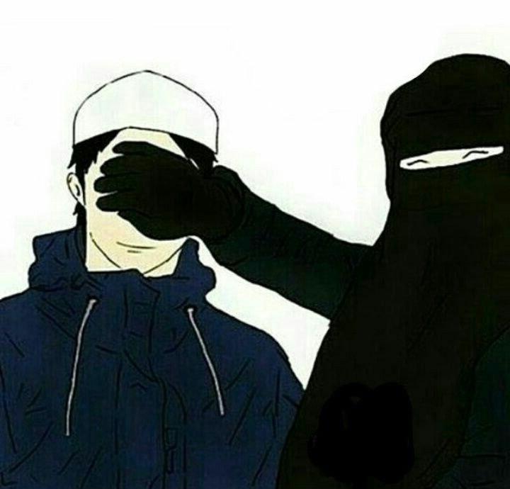 Bentuk Muslimah Bercadar Hitam Whdr 458 Best Cute Muslim Anime ☺ Images On Pinterest