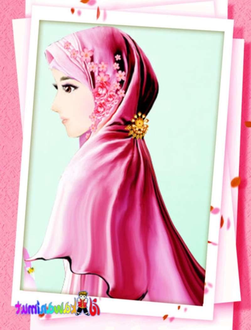 Bentuk Muslimah Kartun Cantik Berhijab Ffdn 17 Gambar Kartun Muslimah Cantik Berhijab Anak Cemerlang