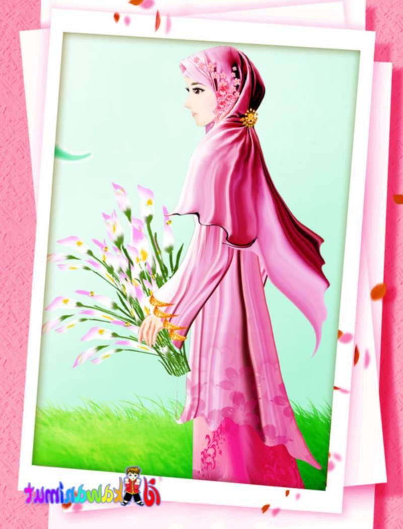 Bentuk Muslimah Kartun Cantik Berhijab Fmdf 17 Gambar Kartun Muslimah Cantik Berhijab